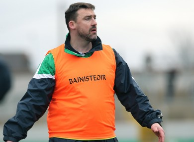 Ballyhale Shamrocks manager Andy Moloney has played a big part in the team's success.