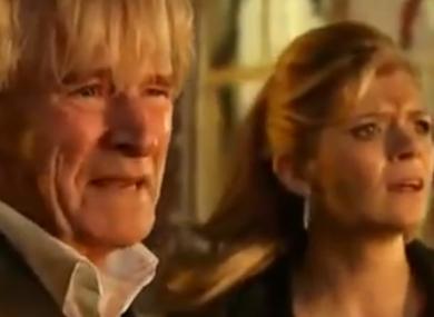 A scene from UK soap Coronation Street
