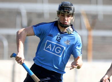 Danny Sutcliffe was the star for Trinity College today.