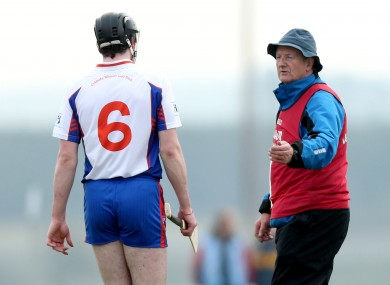 Eamon Cregan will stay on as Mary Immaculate College manager.