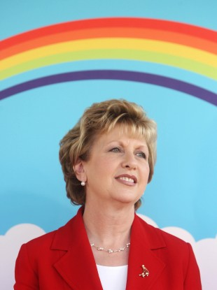 Former President Mary McAleese