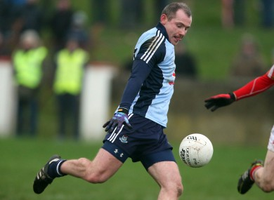 Dublin native Pat Burke netted for Clare today.