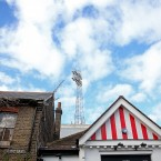 A general view outside the ground during the Sky Bet Championship match at Griffin Park, Brentford.<span class=