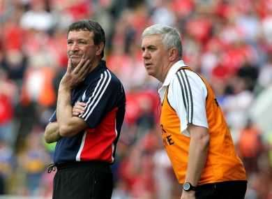 Jimmy Barry-Murphy (left) and Ger Cunningham will face off at Croke Park on Saturday