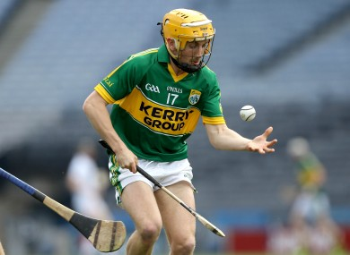 John Griffin will start for Kerry this weekend