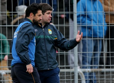Eamonn Fitzmaurice is going to be back working with Paul Galvin.