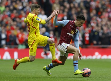 Jack Grealish produced a composed display as Aston Villa knocked Liverpool out of the FA Cup on Sunday.