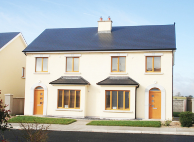 A three-bedroom, semi-detached house in Cootehall, Co Roscommon