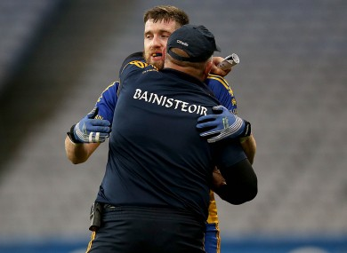 John Evans and Cathal Cregg will be celebrating tonight.