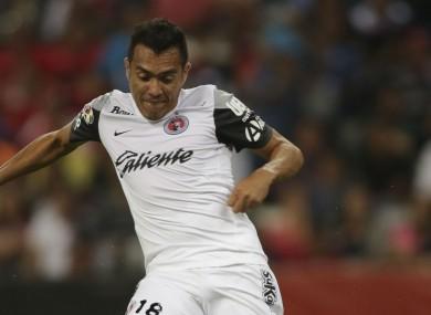 Club Tijuana's Juan Arango has been punished for an alleged bite.
