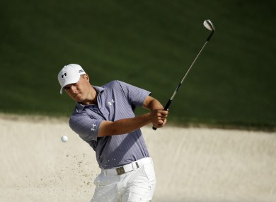 Spieth is the early leader.