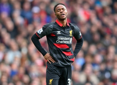 Raheem Sterling: eyeing move to London, reportedly.