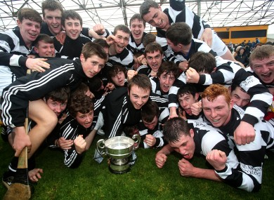 St Kieran's won the Croke Cup for a 19th time last year