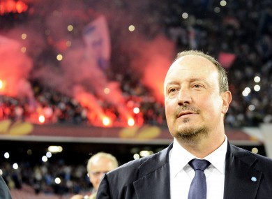 Benitez till real madrid