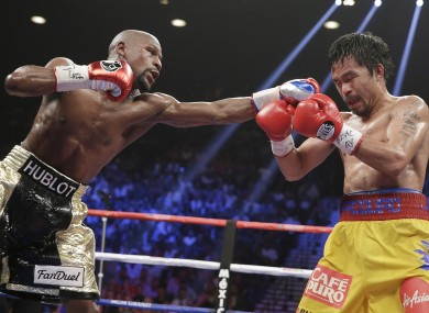 Floyd Mayweather puts on defensive masterclass to beat Manny