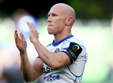 Peter Stringer has been with Bath since January 2013.