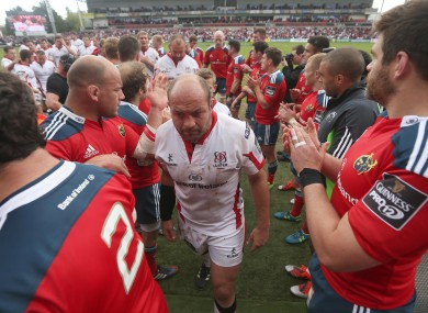 Rory Best has made the front row of the Pro12 Dream Team.