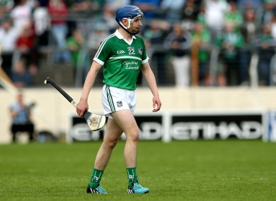 Seanie Tobin was sent off against Clare on Sunday.