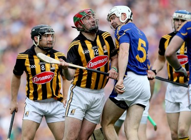 Larkin and Tipp's Brendan Maher: there was no quarter asked or given in last year's All-Ireland final.