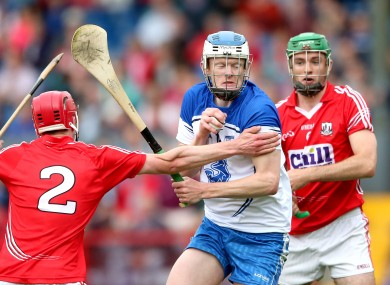 Waterford's DJ Foran in action against Cork.