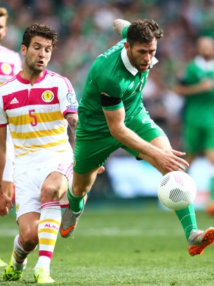 Daryl Murphy had a point to prove against Scotland.