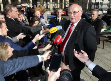 Craughwell pictured after being elected last October