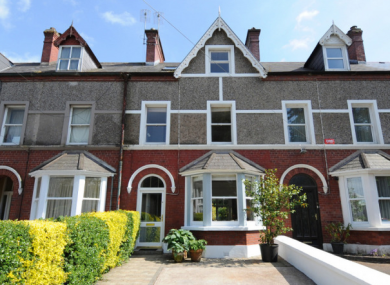 A terrace on College Road, Cork city, asking price €365,000