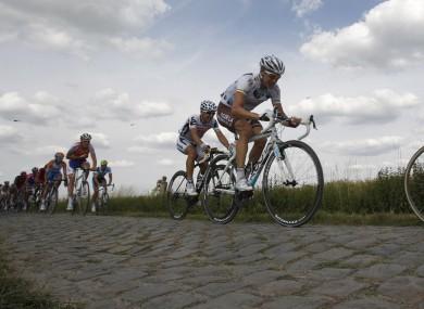Not that Tour De France cyclists eat much pizza.