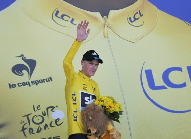 Lance Armstrong just questioned if the Tour de France leader is  too strong  to be clean  a915dbd52
