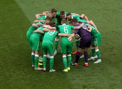 The Irish team have endured some disappointing results of late.