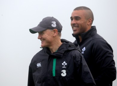 Zebo is hoping to force his way back into the Irish line-up after losing his place at the end of the Six Nations.