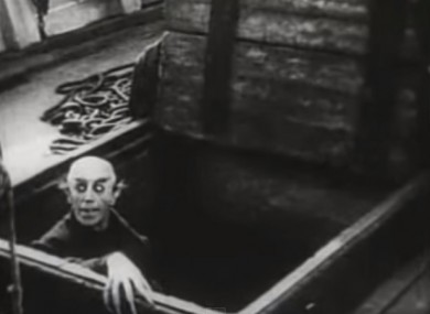 A still from the silent classic.