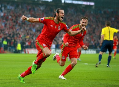 Wales are 10th in the current Fifa rankings.