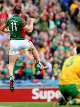 O'Shea was hailed for his powerful performance against Donegal last weekend.