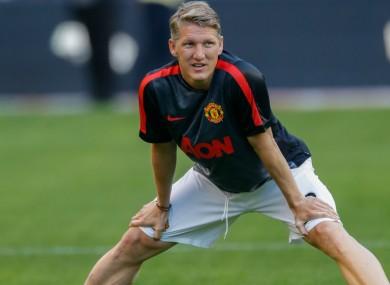 Manchester United recruit Bastian Schweinsteiger.