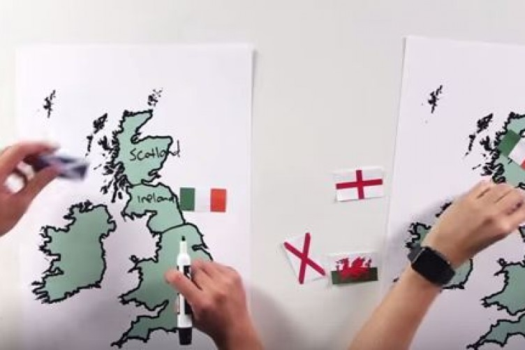 WATCH: Americans try to find Ireland on a map, and it doesn\'t go well