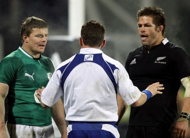 Icons: Brian O'Driscoll and Richie McCaw.