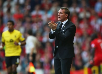 Brendan Rodgers will have been relieved to see his side pick up a win today.