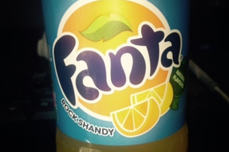 e9e766ef829e Fanta Rock Shandy is a thing that exists now