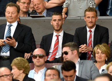 De Gea has sat out United's opening four games of the season.
