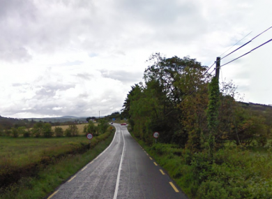 File photo of a road in Termon, where the accident happened.
