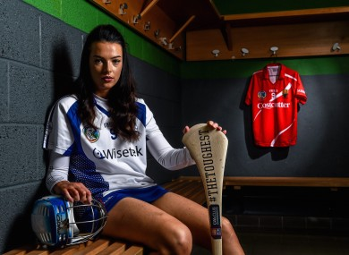 Milford and Cork's Ashling Thompson was speaking at the launch of the AIB GAA Club Championships.