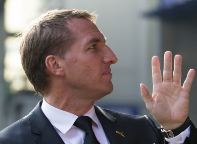 Brendan Rodgers has thanked Liverpool fans for their support.