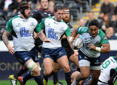 Aki scored Connacht's second try early in the second half.