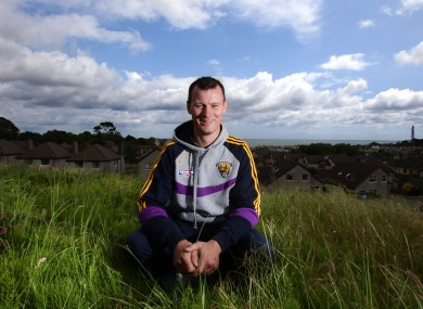 Oulart-the-Ballagh stalwart Darren Stamp has endured a frustrating time with injuries.