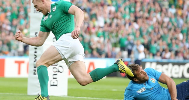 As it happened: Ireland v Italy, Rugby World Cup