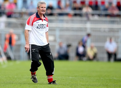 Former selector Kieran Kingston is moving centre stage with Cork.