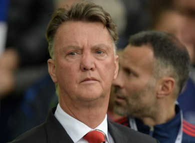 Manchester United manager Louis van Gaal lamented his side's inability to take their chances.
