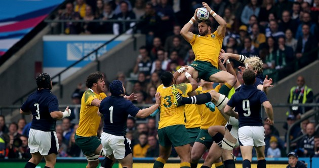 As it happened: Australia v Scotland, Rugby World Cup quarter-final