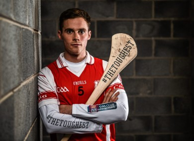 O'Connell at yesterday's media day.